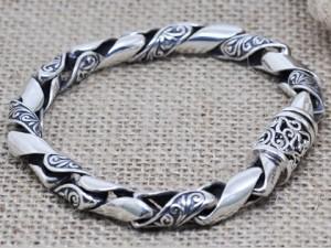925-Sterling-font-b-Silver-b-font-font-b-Man-b-font-font-b-Bracelet-b