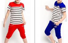 Quần áo xuất khẩu cho bé ngày hè
