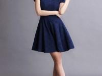Phá Cách Với Đầm Xòe Công Sở 2016