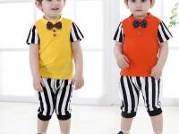 Hai mẫu quần áo xuất khẩu cho bé trai cực dễ thương