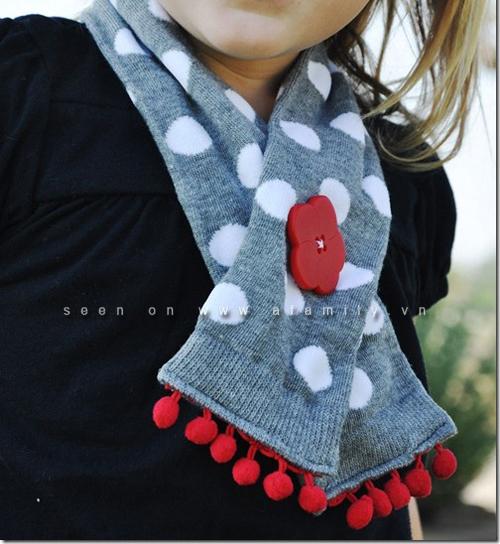 khăn quàng cổ cho bé