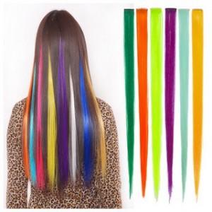 tóc kẹp giá rẻ- light màu