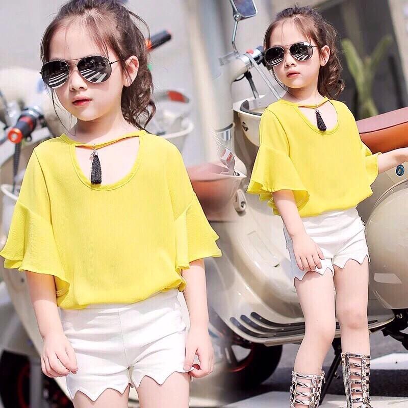 quần áo xuất khẩu cho bé gái sành điệu 1