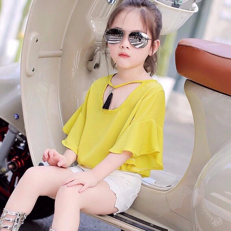 quần áo xuất khẩu cho bé gái sành điệu 2