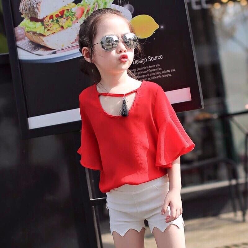 quần áo xuất khẩu cho bé gái sành điệu 3
