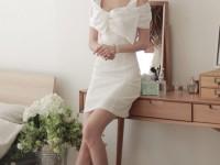Đầm Xòe Công Sở Quyến Rũ
