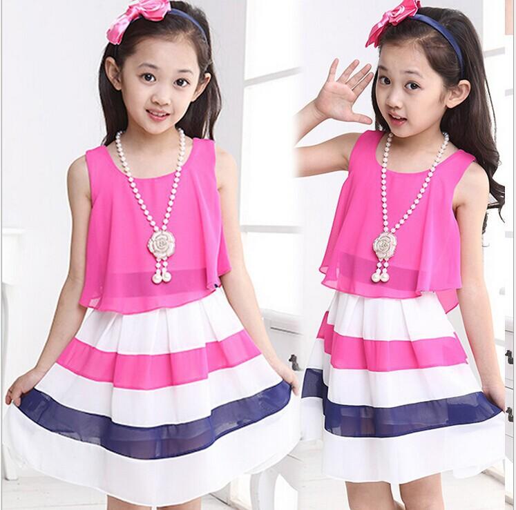 Thời trang mặc nhà cho bé gái mùa hè