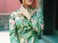 Áo dài cách tân: xu hướng thời trang nữ xuất khẩu
