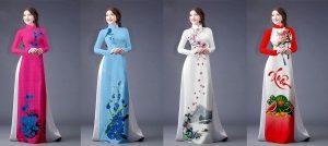 Vải áo dài Thái Lan cao cấp