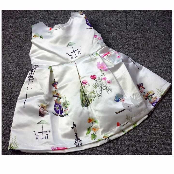 Bộ quần áo xuất khẩu cho bé gái đi tiệc