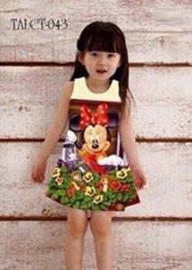 quần áo xuất khẩu cho bé gái in độc đáo