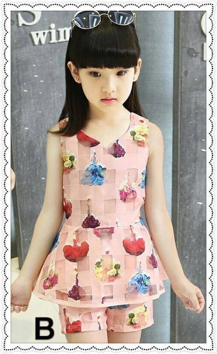 quần áo xuất khẩu cho bé gái mặc ở nhà 2
