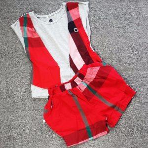 Bộ quần áo xuất khẩu cho bé gái thật cá tính