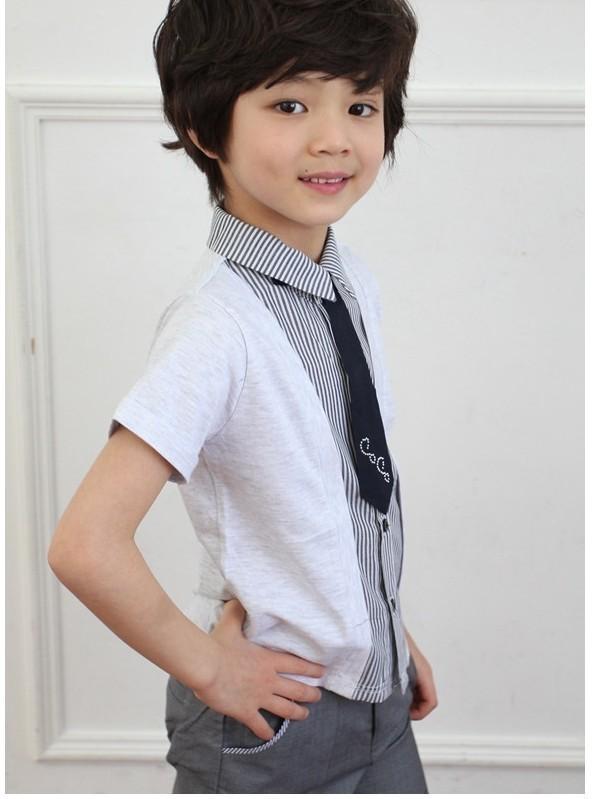 Quần áo xuất khẩu cho bé trai phong cách Hàn Quốc 3