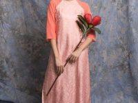 Vải áo dài cao cấp Ngọc Cẩm dịp tết Đinh Dậu