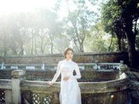 Vải áo dài đẹp tôn vinh vóc dáng kiều nữ Việt