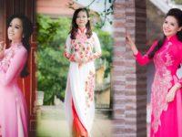 Lựa chọn Vải áo dài mùa xuân ưa chuộng nhất 3 miền